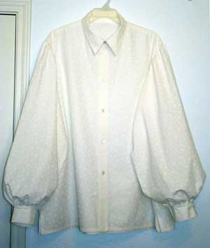 Puffy Shirt Button Front